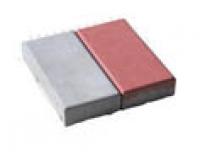 Брусчатка кирпич перфорированный красный (200*100*40)